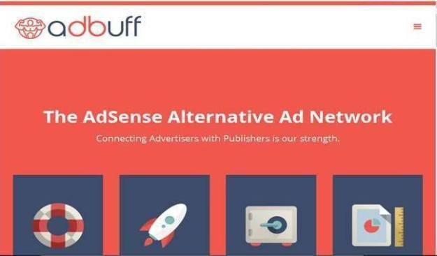 Best Ad network for bloggers - Adbuff logo