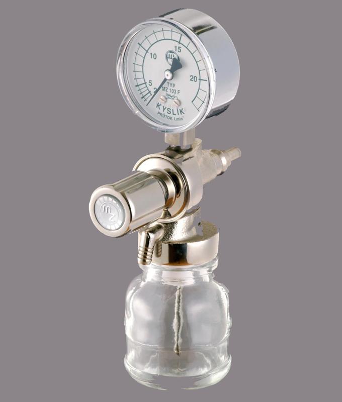 Расходомеры кислорода с увлажнителем MZ 103F и MZ 104F