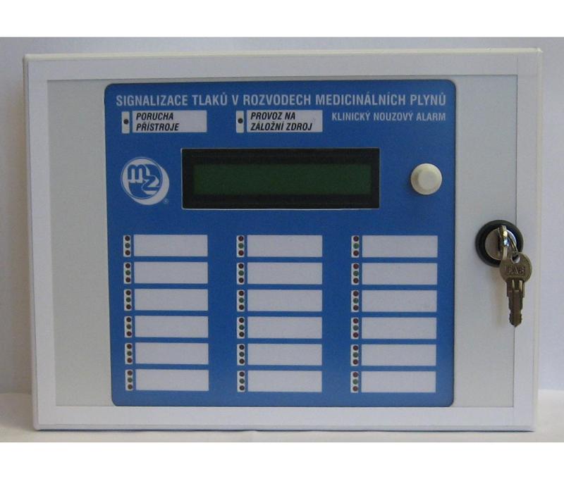 Устройство регистрации давления медицинских газов MZU 010