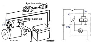 How To Wire A Relay To A Starter Motor  impremedia