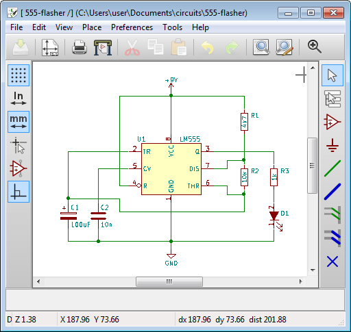 how to draw a circuit diagram tempstar wiring with kicad for beginners using