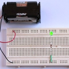 Parallel Battery Wiring Diagram Of Cellular Energy Tutorial 1: Building A Circuit On Breadboard For Beginners In Electronics