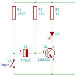 Single Pole Contactor Wiring Diagram Nerve Pain Tutorial 2: Transistor Timer Circuit