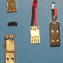 Usb Extension Cable Wiring Diagram 1995 Ford Explorer Led Torch Beginners Electronic Project