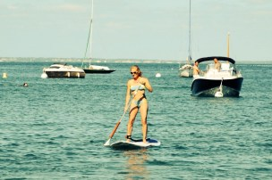 Paddle Noirmoutier starting girl