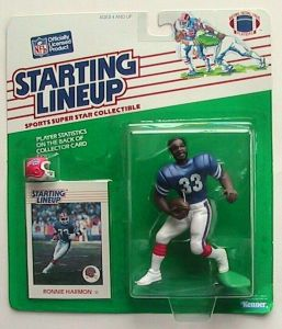 Starting Lineup S.D 1994  RONNIE HARMON SLU Chargers Sports Figurine