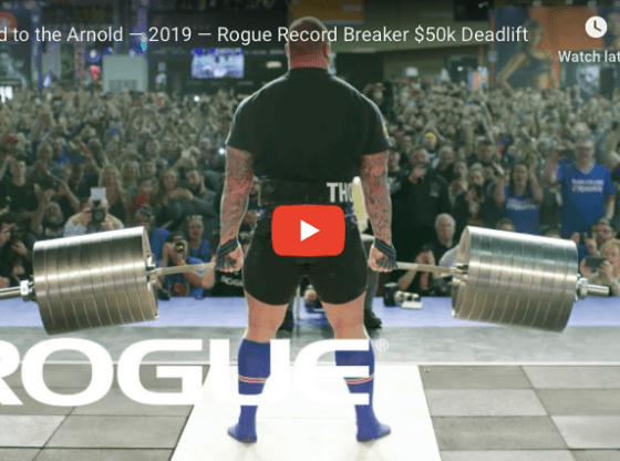 WATCH: Road to the Arnold — 2019 — Rogue Record Breaker $50k
