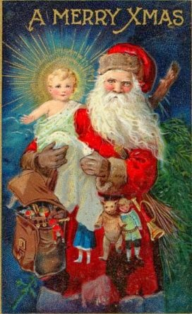 Santa And Baby Jesus Pictures : santa, jesus, pictures, Instead, Santa,, Christkindl, Jesus, Question