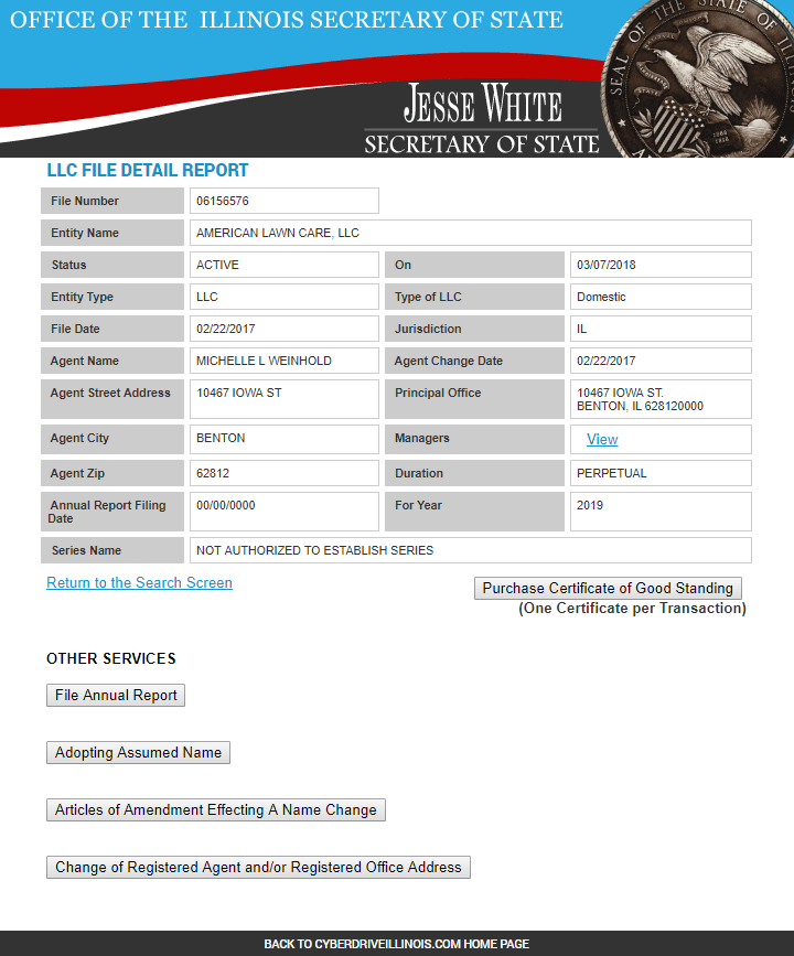 Mississippi Business Entity Search : mississippi, business, entity, search, Search, Available, Business, Names, Illinois, StartingYourBusiness.com