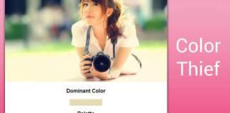 รูปนี้สีอะไร ขโมยสีรูปมาใช้แบบสุด Cool ด้วย Color-Thief