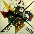 Expressionism: 'On White II', by Wassily Kandinsky 1923