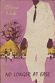"""a comparison of chineua achebes novels in things fall apart and no longer at ease Renders achebe's position of siding with tradition and even manifesting nostalgia  for the past the conclusion is that the novel can be seen as a display of the  """" no longer at ease"""" forms a kind of sequel to 'things fall apart"""" but is set during  a period just prior to  scholarships as compared to the demand that men and."""