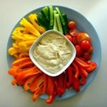 Keto Healthy Snack Veggie Dip