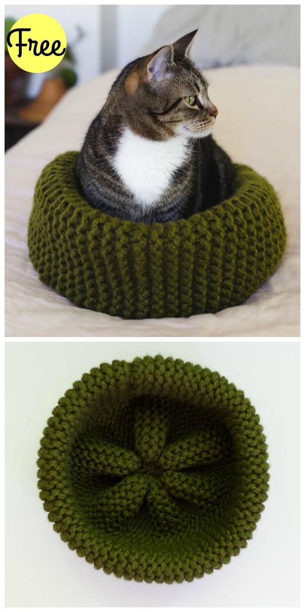 free cat knitting patterns # 66