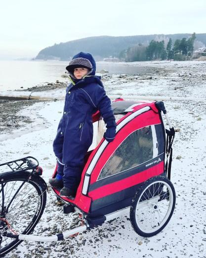 Nordiccab sykkelvogn vinter