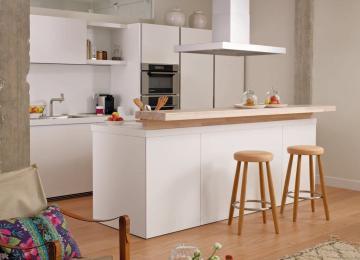 Cucina Con Bancone Snack   Cucine Con Bancone Snack Simple Nantja ...