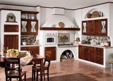 Cucina Americana Rustica