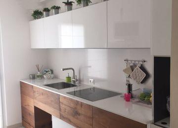 Cucina Naturale Elegante | 100 Idee Cucine Moderne In Legno Bianche ...