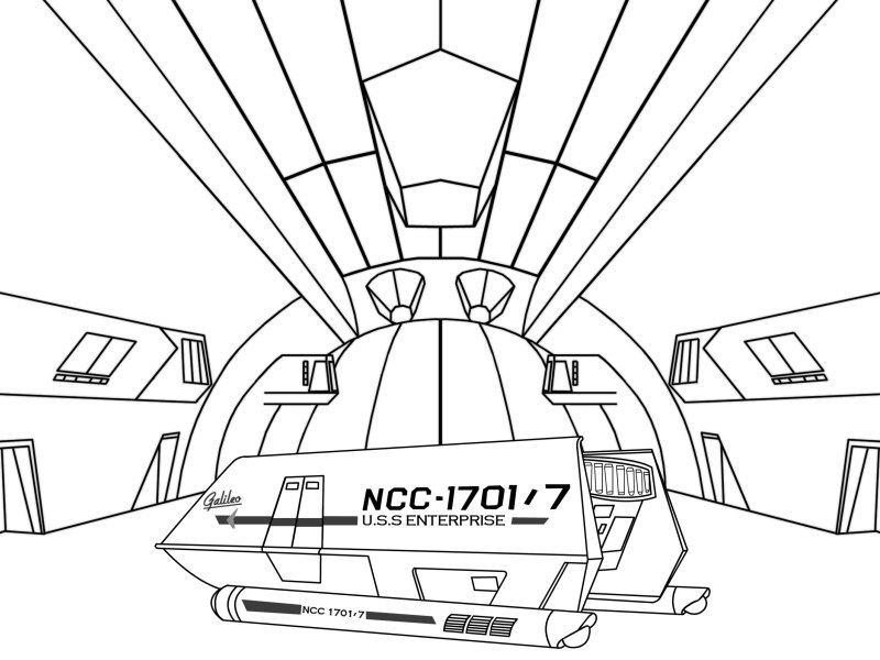 Free coloring pages of uss enterprise