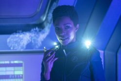 """Saints of Imperfection"" -- Episode #205 -- Pictured: Sonequa Martin-Green as Burnham of the CBS All Access series STAR TREK: DISCOVERY. Photo Cr: Michael Gibson/CBS ©2018 CBS Interactive, Inc. All Rights Reserved."