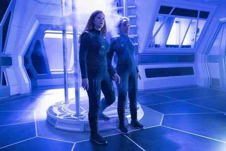 """Saints of Imperfection"" -- Episode #205 -- Pictured (l-r): Mary Wiseman as Tilly; Bahia Watson as May of the CBS All Access series STAR TREK: DISCOVERY. Photo Cr: Michael Gibson/CBS ©2018 CBS Interactive, Inc. All Rights Reserved."
