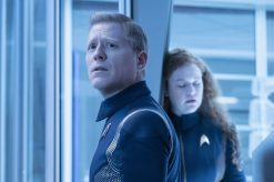 """""""An Obol For Charon"""" -- Ep #204 - Pictured: Anthony Rapp as Stamets of the CBS All Access series STAR TREK: DISCOVERY. Photo Cr: Michael Gibson/CBS © 2018 CBS Interactive. All Rights Reserved."""