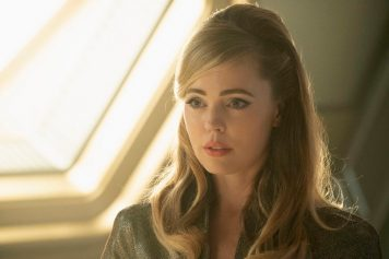 """If Memory Serves"" -- Ep#208 -- Pictured: Melissa George as Vina of the CBS All Access series STAR TREK: DISCOVERY. Photo Cr: Michael Gibson/CBS ©2018 CBS Interactive, Inc. All Rights Reserved."