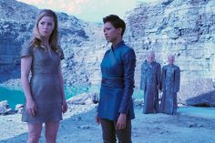 """If Memory Serves"" -- Ep#208 -- Pictured (l-r): Melissa George as Vina; Sonequa Martin-Green as Burnham of the CBS All Access series STAR TREK: DISCOVERY. Photo Cr: Michael Gibson/CBS ©2018 CBS Interactive, Inc. All Rights Reserved."
