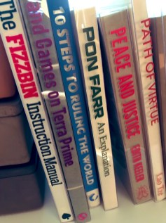 Michael's bookshelf