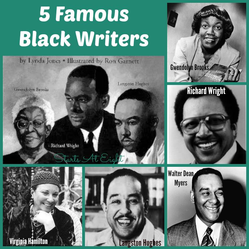 5 Famous Black Writers Startsateight