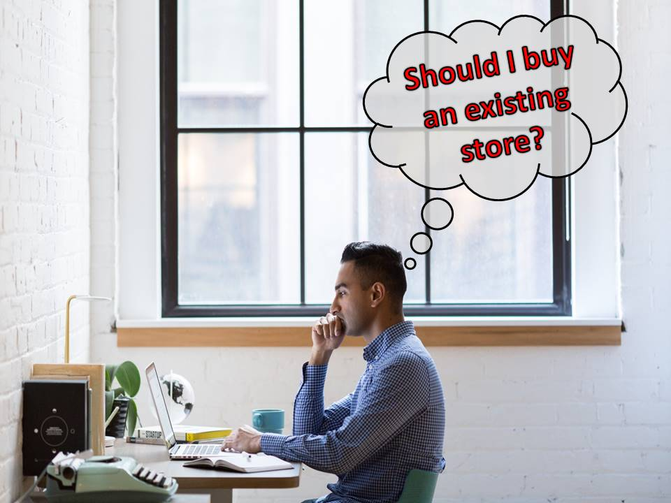 buying existing store
