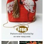 Bucket Bag Free Sewing Pattern