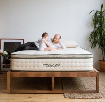 Avocado Green Standard Hybrid Mattress - Best Mattresses for Side Sleepers