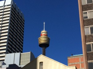 line of sight to westfield centrepoint tower for internet 1gbps symetrical