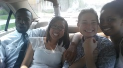 How many Bonner's can fit in that back seat? Three plus a would be pastor