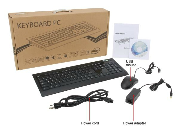 Diablotek U310 Keyboard PC: весь компьютер в клавиатуре - Ubuntu ...