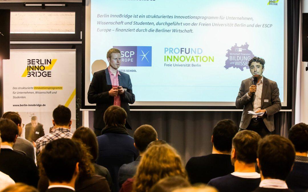 InnoBridge – Strukturiertes Innovationsprogramm der Freien Universität Berlin und der ESCP Europe geht mit dem Thema Mobility in die erste Runde