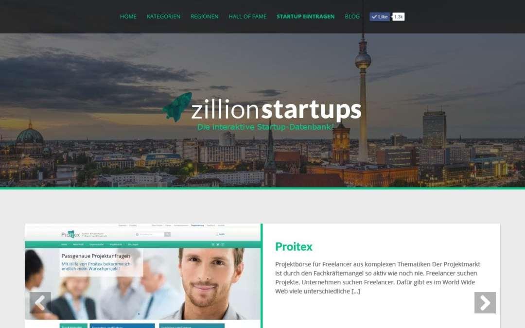 Kooperation mit zillionstartups