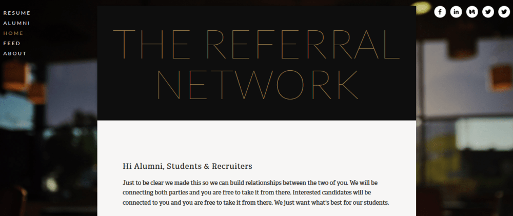 The Referral Network