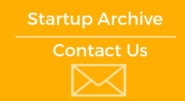 Contact Startup Archive