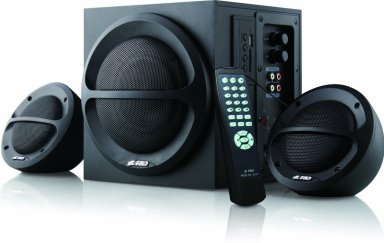 Resources used at Startup Archive - Speakers - F&D A111F 2.1 Desktop Speakers