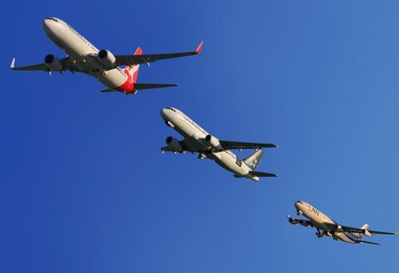 passengers, airlines, flights