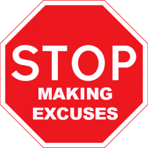 Lame excuses for not starting your own business
