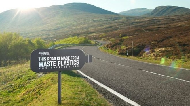 South Africa's First Plastic Road Project Has Commenced