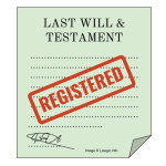 How to go about registering a will