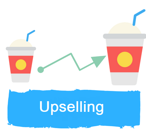 How to upsell customers