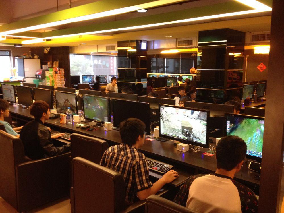 Internet cafe business
