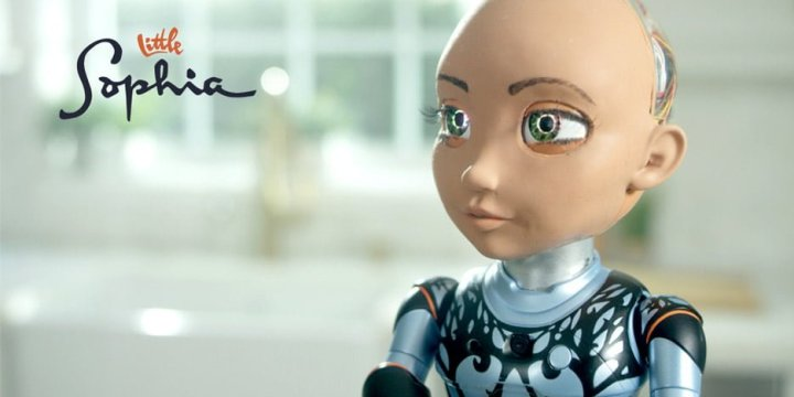 Hanson Robotics' Little Sophia is a coding companion for young girls