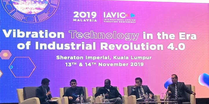 Mr. Shahriman Sahib at IAViC2019