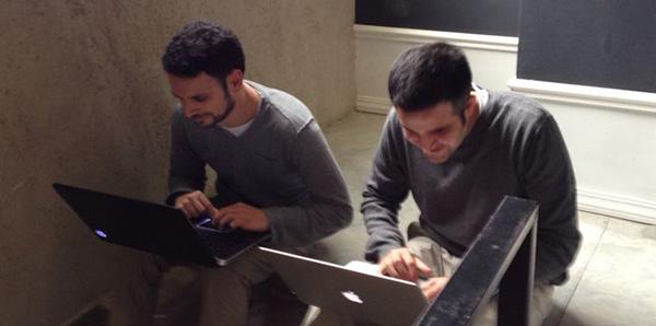 Co-founders Zahi Boussiba and Yoni Douek